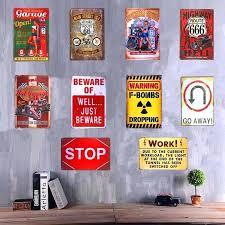 man garage signs whole shabby chic metal tin signs pin up girl garage warning signs hot