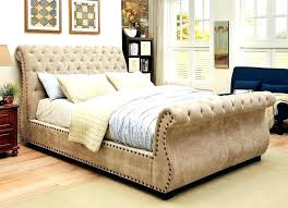 tufted upholstered sleigh bed. Contemporary Upholstered Upholstered Tufted Sleigh Bed Willow Fabric  Bedroom Set With Tufted Upholstered Sleigh Bed M