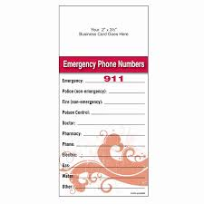 Inspirational Emergency Phone Number Template Audiopinions