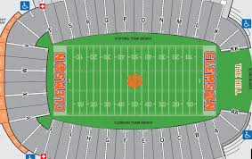 Uc Berkeley Football Stadium Seating Chart Clemson Tigers Football Seating Chart Seat Views Tickpick
