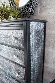 diy painting furniture ideas. Textured-WallPaper-Dresser- GeneralFinishes- #Sponsor-Painted Furniture (13 Of Diy Painting Ideas