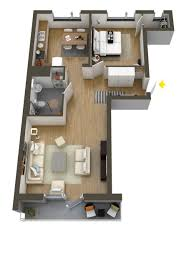 Small Picture 40 More 1 Bedroom Home Floor Plans