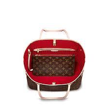 louis vuitton neverfull white. women\u0027s luxury christmas gift - neverfull mm monogram canvas women handbags | louis vuitton louis vuitton white