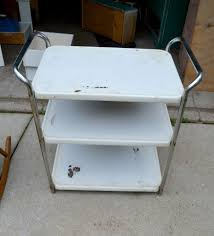 pin this do you have an old metal cart sitting in the garage check out this diy
