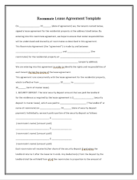 lease abstract template lease agreement template free word templates