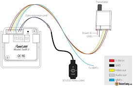 runcam swift 2 fpv camera preview review oscar liang here is a connection diagram provided by runcam between the camera and osd control for camera settings vtx and battery