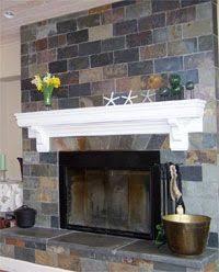 Black Slate Fireplace From China  StoneContactcomSlate Fireplace