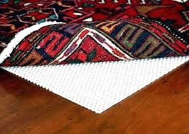 vinyl rug pad non slip pads for backed area