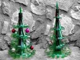 Decorated Plastic Bottles 100 DIY Alternative Christmas Tree Ideas for Festive mood 94
