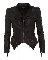 black 039 pulp 039 faux leather jacket
