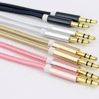distributors of discount 3 5 mm headphone jack wiring 2017 cord 3 5 mm jack aux cable for iphone samsung mp3 mp4 car audio cable wire 6 colors copper nylon headphone speaker aux cord on