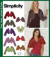Bolero Jacket Pattern Cool Simplicity 48 Bolero Or Shrug