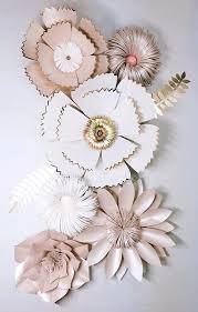 Paper Flower Cricut Template Giant Paper Flower