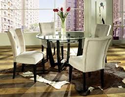 Glass Kitchen Tables Round Small Round Table And Chairs Cozy Black Swivel Chair Feat Striped