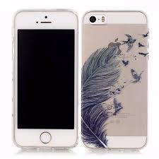 Dream Catcher Communications LANCASE For iPhone 100S Case Silicone Feather Dream Catcher Soft TPU 2