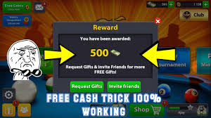 cheat Cash Working Youtube Just 2017 1 8 Free Hack 500 Minutes Trick - Ball 100 in no Pool