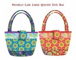 930 best Free Bag Sewing Patterns & Tutorials images on Pinterest ... & The Piccadilly Lane Quilted Tote Bag. Tote PatternBag Sewing ... Adamdwight.com