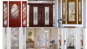 classy glass front door design ideas