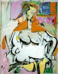 woman enamel by willem de kooning 1904 1997 netherlands