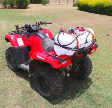 quad bike atv weed sprayer with tank and spray boom scintex