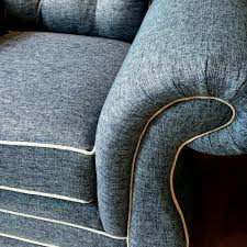 brand new ralph lauren style denim fabric sofa stylish and very comfy is for a pair furniture sofas on carou