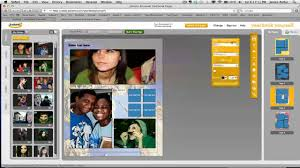 make personal yearbook pages at yearbookyourself