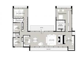 Coolest U Shaped Ranch House Plans Jk Pinterest Courtyard B Be F C Fa Dec:  ...