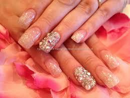 Eye Candy Nails & Training - Swarovski crystal ring finger with ...
