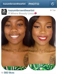 makeup transformation insram photo by insram kazumibrowntheartist celebrity