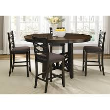 Table With Hidden Chairs Walnut Dining Room Chairs Home Design Ideas