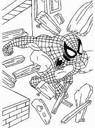 Spiderman Kleurplaat Jouwkleurplaten
