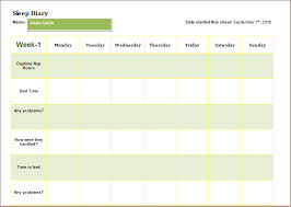microsoft word diary template child sleep diary template download at http www wordexceltemplates