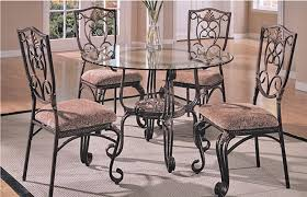 with wood base catchy glass topped dining table and chairs dining room great dining table glass top dining table