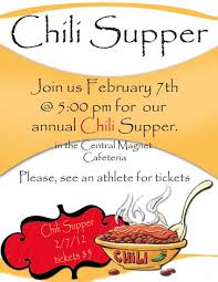 chili supper flyer 12 best photos of chili fundraiser flyer templates chili cook off