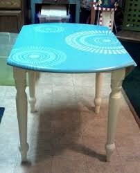 looklacquered furniture inspriation picklee. Turquoise Hand Painted Table Looklacquered Furniture Inspriation Picklee U