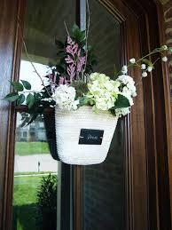 front door decorFront Door Decor  Spring Wreath Alternatives