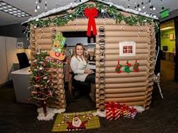 PHOTO: Angela Westfield, 29, transformed her cubicle at the W Minneapolis  into a