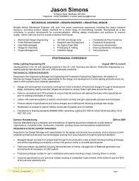 Forensic Mechanical Engineer Sample Resume