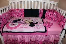 minnie crib set