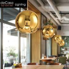 decasa lighting 25cm best er decorative ceiling lights gold mirror pendant glass ball hanging light ly bl131 gd 250