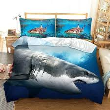 duvet covers king size shark printed bedding sets queen size watercolor bed set duvet cover king