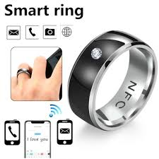 NFC Smart <b>Finger Digital</b> Ring Wear Connect Android/Phone ...