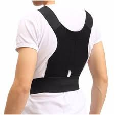 <b>adjustable back support posture</b> corrector belt shoulder lumb at ...