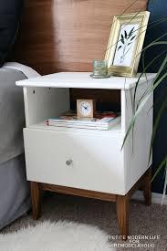 diy ikea tarva.  Ikea Gorgeous Mid Century Ikea Tarva Hack By Petite Modern Life On Remodelaholc In Diy