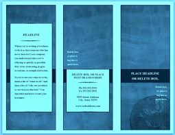 Blank Pamphlet Template Word Template Blank Pamphlet Template Word Brochure Templates Tri Fold 24