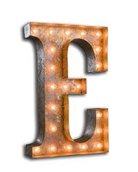Small Picture Vintage Marquee Light Letter E Vintage Marquee Lights