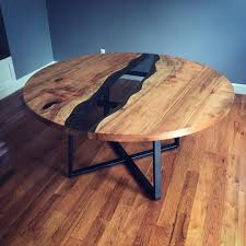 my first round table spalted big leaf maple and steel base