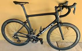 2018 Specialized S Works Ultra Light Tarmac Sl6 Carbon Road Bike Size 58cm