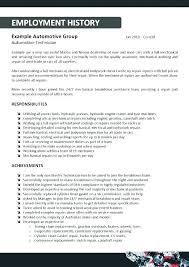 Automotive-Technician-Sample-Resume-22Auto Mechanic Resume Sample ...