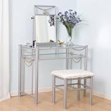 Metal Bedroom Vanity Metal Vanity Table Globorank